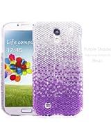 TheBlingZ La nuance pourpre Bling Bling Diamante Strass Cristal Case Coque etui housse pour Samsung Galaxy S4 + acheter maintenant! Protecteur d'écran gratuity