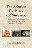 img - for The Solution For Black America:: Reclaiming, Rebuilding, and Restoring The Urban Ghettos In America book / textbook / text book