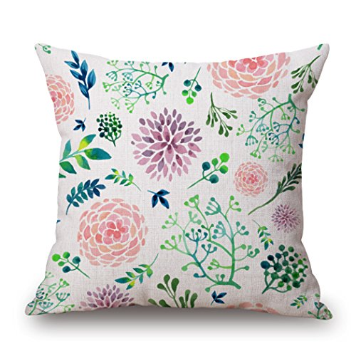 MQMY cuscino sulla manica cotone lino semplice permeabilità morbida 45*45cm 17.71*17.71inches