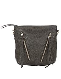 Vero Couture Black Textured Sling Bag - B01CPGT7R8