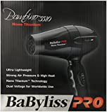 Babyliss Bambino Nano Titanium Ulta Lightweight Hair Dryer, 1000 Watt