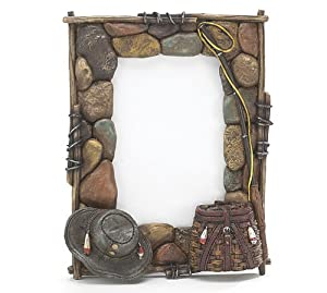 Fly fishing picture frame kitchen home for Fishing picture frame