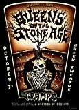 Queens Of The Stone Age with The Cramps @ Greek Theatre, Halloween 2003 - Mounted Poster