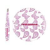 Tweezerman Fashion Chic Mini Slant Tweezer & Pocket Mirror