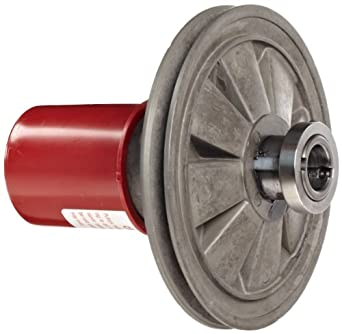"Lovejoy 180 Aluminoline Variable Speed Pulley, 5/8"" Bore, 54 inch-pounds Torque Capacity, 6.31"" OD, 7.13"" Overall Length"