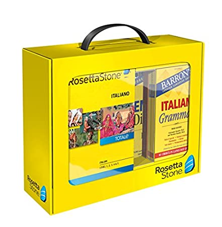 Learn Italian | Rosetta Stone Power Pack | PC/Mac