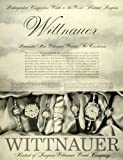 1957 Ad Wittnauer Watch Co Christmas Gift Jewelry Diamond Wristwatches Jewel &#8211; Original Print Ad