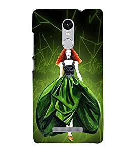 Beautiful Princess 3D Hard Polycarbonate Designer Back Case Cover for Xiaomi Redmi Note 3 :: Xiaomi Redmi Note 3 (3rd Gen)