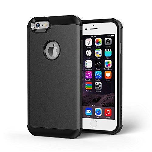 【iPhone 6s Plus ケース】 Anker ToughShell (2015年9月発売 タフ保護ケース) New iPhone 6s Plus 5.5インチ対応  スペースグレー【GravityGuard & ShockShield搭載 18ヶ月保障】