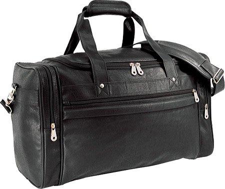 us-traveler-koskin-leather-sport-travel-carry-on-duffel-bag-black