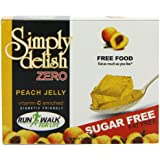 Simply Delish Sugar Free Instant Peach Jelly 8 g (Pack of 8)