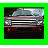 LAND ROVER RANGE ROVER HSE 2003-2010 CHROME GRILLE GRILL KIT 03 04 05 06 07 08 09 10 2003 2004 2005 2006 2007 2008 2009 SUPERCHARGED SC