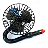 Bestpriceam (TM) 12v Car Truck Boat Vehicle Portable Mini Electric Air Fan Cigarette Lighter