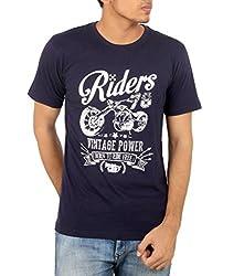 Younsters Choice Men's Cotton T-Shirt (YC-5836_Black_X-Large)