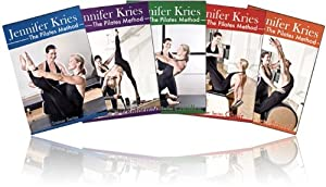 Jennifer Kries Pilates Master Trainer Series 5 Video Set on DVD - Reformer, Mat, Chair, Barrel, Cadillac