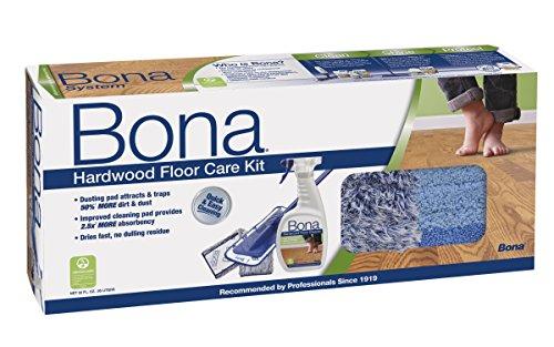 Bona Hardwood Floor Care System, 4-Piece Set (Bona X Wood Floor Cleaner compare prices)