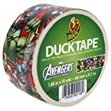 Duck Brand 281867 Avengers Printed Duct Tape, 1.88-Inch by 10-Yards, Single Roll