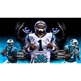 Cam Newton Carolina Panthers Poster Photo Limited Print NFL Football Player Sexy Celebrity Athlete Size 22x28 #1