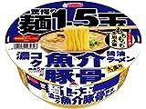 エースコック 驚愕の麺1.5玉 濃コク魚介豚骨醤油ラーメン 112g×12個