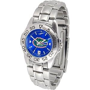 Florida Gators NCAA AnoChrome Sport Ladies Watch (Metal Band) by SunTime