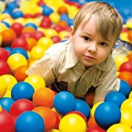 100 Fun Balls Ball Pit Balls – Kids L…