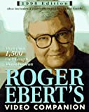 Roger Ebert's Video Companion 1998 (Roger Ebert's Movie Yearbook) (0836236882) by Ebert, Roger