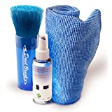 Cojollo Computer Screen Cleaner - best cleaning Kit with Spray Bottle, Microfiber Cloth, Cleaning Brush for Apple Laptop, iphone, ipad, imac, Galaxy phone, Tablets, Monitor, Cell Phones, HD, Smart TV, Clean PC or Mac, 3D, LCD, LED, GPS, Xbox, and Keyboard