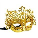 Qingsun Unisex Roman Venetian Mask Ha...