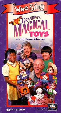 Grandpa's Magical Toys [VHS]
