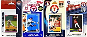 MLB 4 Different Licensed Trading Card Team Sets by C&I Collectables