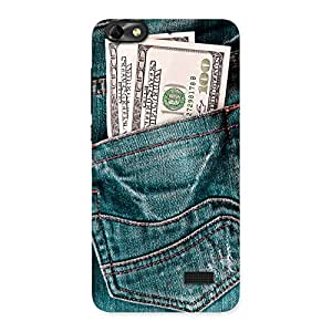 Premium Money Money Colorful Jeans Back Case Cover for Honor 4C