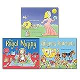 Nicholas Allan Nicholas Allan The Royal Nappy Collection 3 Books Set, Cinderellas Bum, The Queen's Knickers