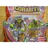Gormiti the Invincible Lords of Nature 4 Pack (Series 2) Barbatus, Tormentor The Torturer, Bullrock, Dedalus The Undergrounder