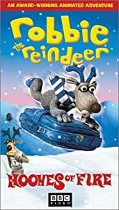 Robbie The Reindeer In Hooves Of Fire Vhs by BBC Warner
