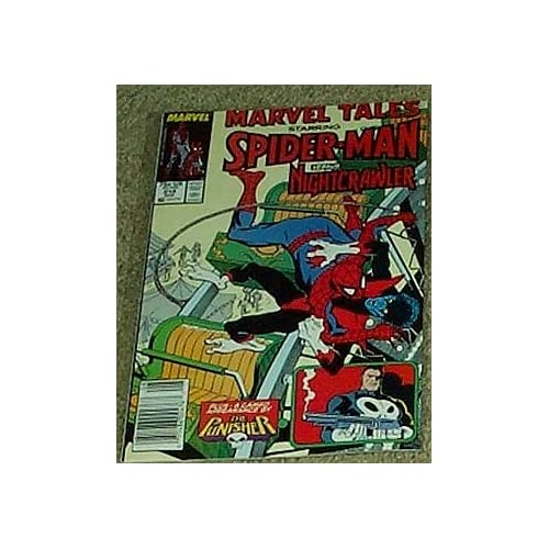 Marvel tales spider man versus nightcrawler vol 1 no 214 aug 1988