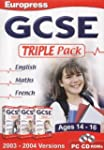 GCSE English Maths French Triple Pack