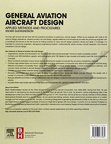general aviation aircraft design snorri gudmundsson pdf