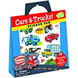 Peaceable Kingdom / Sticker Fun! Cars and Trucks Reusable Sticker Tote