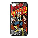 Nexttt Design Thor iPhone 4/4S Case Marvel Comics Avengers Characters Collection Thor For iPhone 4 4s Green Black Colorful Case Cover