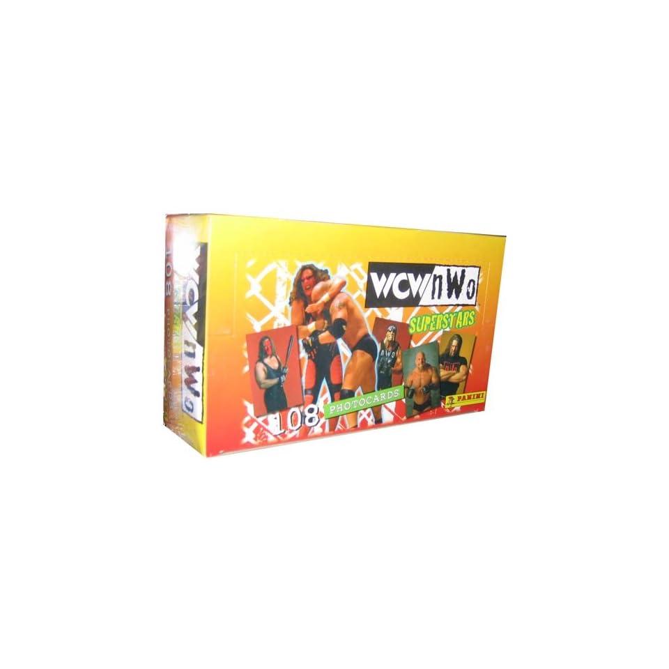 WCW Panini Photo Wrestling Trading Cards Box   108