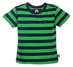 Vitamins Boys' T-Shirt (08Tb-424-4-P.Green_Light Green_4 - 5 Years)