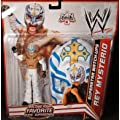 Mattel WWE Wrestling Exclusive Superstar MatchUps Action Figure Mask Rey Mysterio White Pants Mask