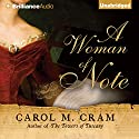 A Woman of Note Audiobook by Carol M. Cram Narrated by Susan Duerden