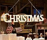 LED-Aufhnger-CHRISTMAS-mit-48-LEDs-Schriftzug-Holz-Deko-Weihnachten