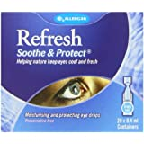 Refresh 8ml Soothe and Protect Eye Drops - 20x0.4ml