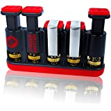 Finger Master Hand Strengthener & Finger Exerciser For Athletes, Musicians, Rock Climbers As Well As Physical Therapy For Rehab, Arthritis & Carpal Tunnel