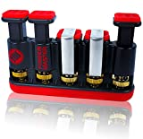 The Finger Master ? Hand Strengthener for Musicians (Guitar), Athletes, Fitness Training & Physical Therapy ? Promotes Relief From Arthritis (Rheumatoid) & Carpal Tunnel, As Well As Increases Grip, Dexterity & Endurance ? Perfect Hand Exerciser for CrossFit & Rock Climbing