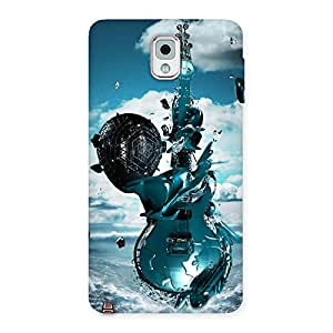 Anime Sky Guitar Back Case Cover for Galaxy Note 3