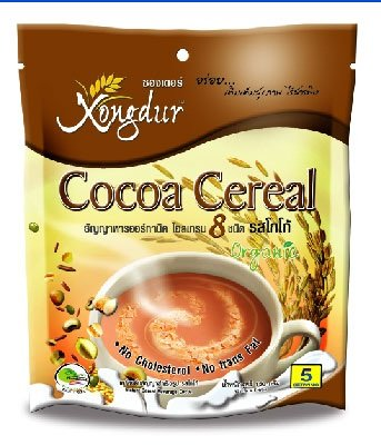 Xongdur Cocoa Cereal With 8 Whole Grains Cereal (Pack Of 3)