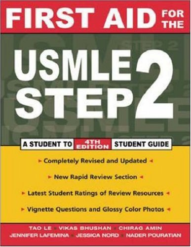Image for First Aid for the Usmle Step 2 : A Student to Student Guide